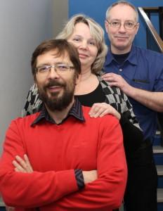 Alan Vapenicek (vpředu) se svými kolegy