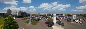 Auto Palace Spořilov panorama