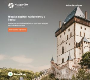 HoppyGo spouští vlastní cestovatelský bedekr.